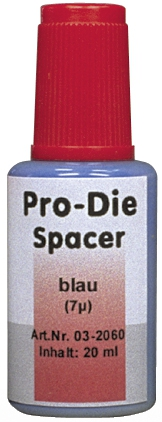 Pro-die spacer Épaisseur : 7μ 01-357