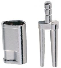 Bi-V-Pin avec gaine et profilé en V N° 328  01-631