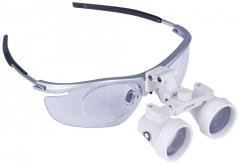 Loupes binoculaires chirurgicales de Galilée  Modèle sport gris métallisé 13-441