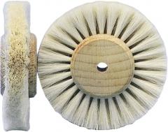 Brosse en poil de chèvre blanc  07-530