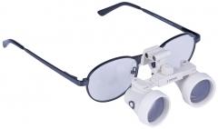 Loupes binoculaires chirurgicales de Galilée  Modèle classique noir 13-444
