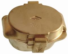Moufle à clavettes en laiton Holy  12-912