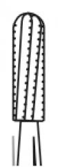 Fraises carbure de tungstène FG Cylindrique à bout rond surtaillé 10-979