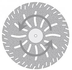 Disque Diamanté PM  10-608