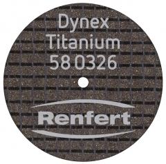 Dynex Titanium disques à tronçonner  07-936