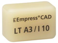 IPS EMPRESS CAD LT (Basse Translucidité)  I10 La boîte de 5, I10 BL 42-1403