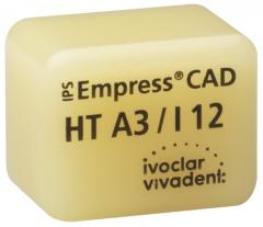 IPS EMPRESS CAD HT (Haute Translucidité) I12 La boîte de 5, I12 A-D 42-1359