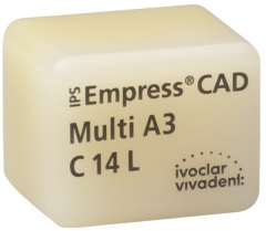IPS EMPRESS CAD MULTI La boîte de 5 C14L 42-1426