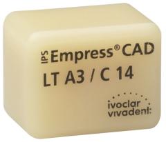 IPS EMPRESS CAD LT (Basse Translucidité) C14 La boîte de 5 C14 BL 42-1411