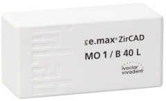 IPS E.MAX ZIRCAD MO (Opacité Moyenne) B40L La boîte de 9 42-2393