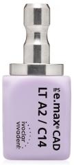 IPS E.MAX CAD LT (Basse Translucidité) C14 La boîte de 5, inLab LT C14 BL 42-1859