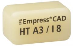IPS EMPRESS CAD HT (Haute Translucidité) I8 La boîte de 5, I8 A-D 42-1341