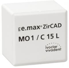 IPS E.MAX ZIRCAD MO (Opacité Moyenne) C15L La boîte de 25 42-3016
