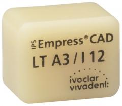 IPS EMPRESS CAD LT (Basse Translucidité)  I12 La boîte de 5, I12 BL 42-1407