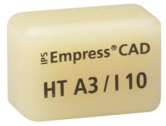 IPS EMPRESS CAD HT (Haute Translucidité) I10 La boîte de 5, I10 A-D 42-1350